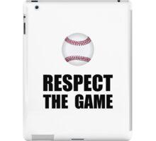 Respect Baseball iPad Case/Skin