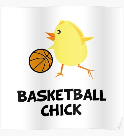 Basketball Chick Poster