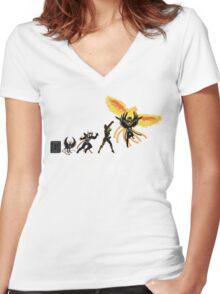 Phoenix Evolution Women's Fitted V-Neck T-Shirt