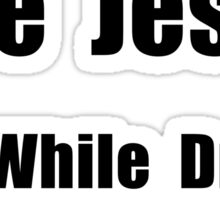 Jesus Text Sticker