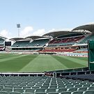 Adelaide Oval from the Scorboard End by DPalmer