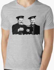 LAUREL & HARDY beer Mens V-Neck T-Shirt