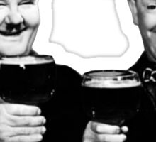 LAUREL & HARDY beer Sticker