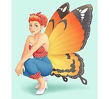 Retro Fairy Photographic Print