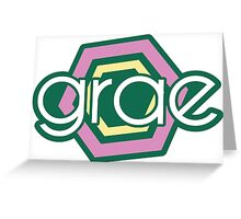 Grae (Youtube Channel Logo) Greeting Card