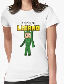 Little Lizard Gaming - Minecraft Youtuber Womens Fitted T-Shirt