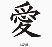 Kanji Love Kids Tee