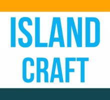 IslandCraft MineCraft Server Sticker