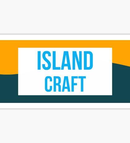 IslandCraft MineCraft Server Sticker