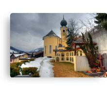 Saalbach, Austria Canvas Print