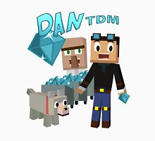 DanTDM The Diamond Minecart - Minecraft Youtuber Unisex T-Shirt