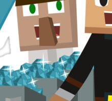 DanTDM The Diamond Minecart - Minecraft Youtuber Sticker