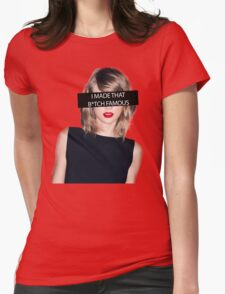 Kanye Famous - TLOP Womens Fitted T-Shirt