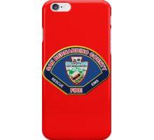 San Bernardino County Fire iPhone Case/Skin