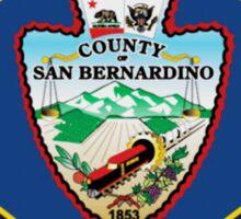 San Bernardino County Fire Sticker