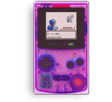 Retro Gameboy Color  Canvas Print