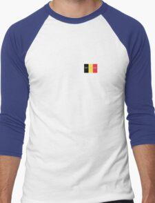 Pray for Belgium Men's Baseball ¾ T-Shirt