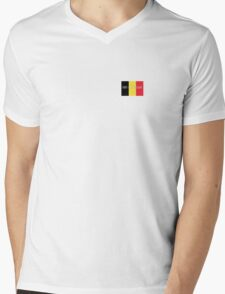 Pray for Belgium Mens V-Neck T-Shirt