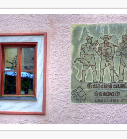 Saalbach, Austria Sticker