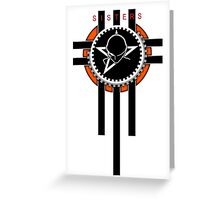sisters of mercy logo Greeting Card