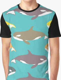 Killer whales. Graphic T-Shirt