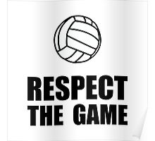 Respect Volleyball Poster