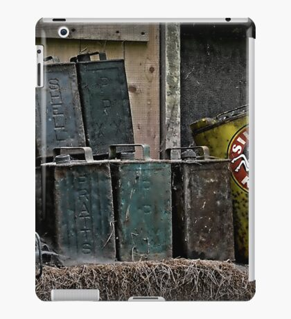 Oil cans iPad Case/Skin