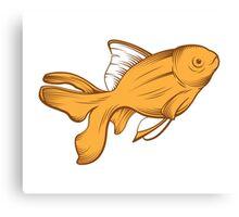 gold fish Canvas Print