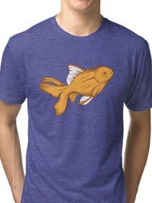 gold fish Tri-blend T-Shirt