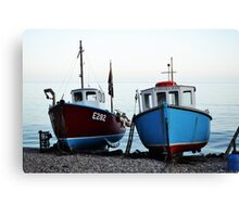 Fisherman's boats (1) Canvas Print
