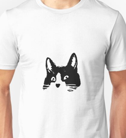 roommates cat large Unisex T-Shirt