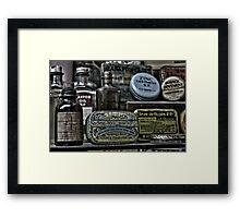 Medicine cabinet Framed Print