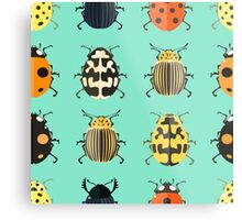 Insects. Metal Print