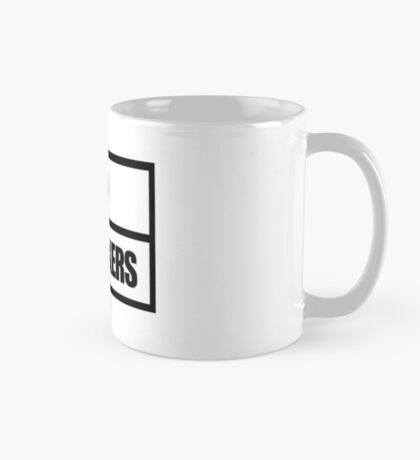 Tattoo Fixers style white and black design Mug