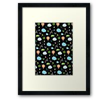 Eco Pattern Framed Print