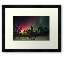 Sky in the space Framed Print