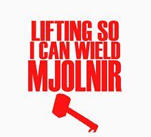 Lifting to Wield Mjolnir Tank Top