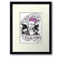 Hate, Lust, and Pixie Guts Framed Print