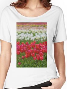 Field of Tulips Women's Relaxed Fit T-Shirt