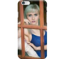 Looking through the window iPhone Case/Skin
