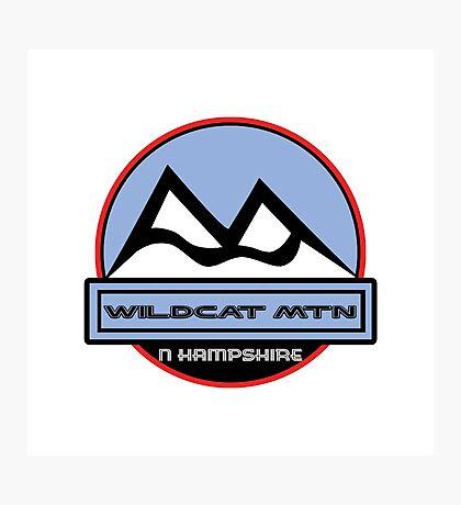 WILDCAT MOUNTAIN NEW HAMPSHIRE Mountain Skiing Ski Art Photographic Print