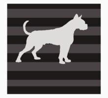 Boxer Dog Kids Tee