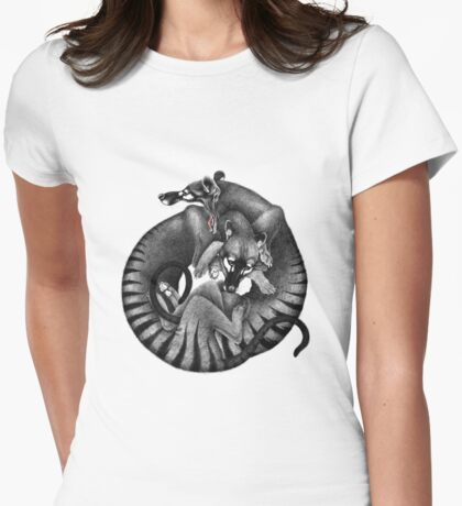 Thylacines Womens Fitted T-Shirt