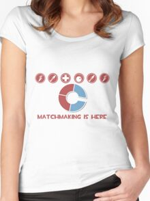 TF2 Matchmaking IS HERE Women's Fitted Scoop T-Shirt