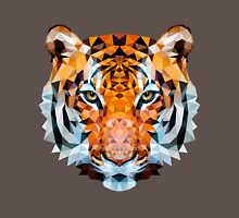 Low-poly Geometric Tiger Unisex T-Shirt