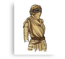 Rey: The Force Awakens Canvas Print