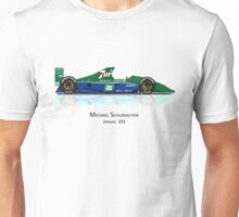 Michael Schumacher - Jordan 191 Unisex T-Shirt