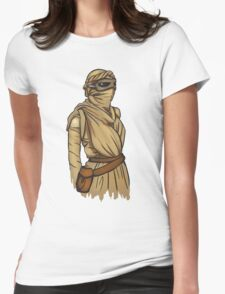 Rey: The Force Awakens II Womens Fitted T-Shirt