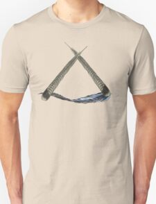 Feather triangle Unisex T-Shirt
