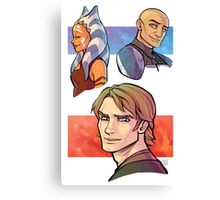 TCW In Happier Times Canvas Print